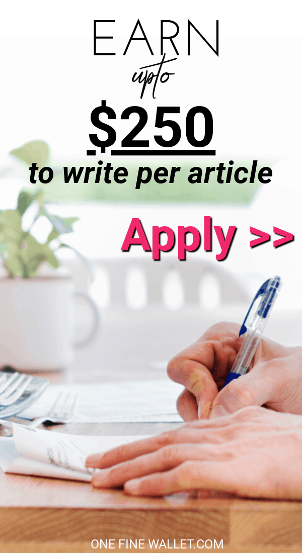 Make extra money from home, writing in your free time. Here are some websites that are accepting to pay you to write without experience. Work at home jobs | Side hustles | Online jobs for stay at home moms #makemoneyonline #earnextramoney #financialfreedom