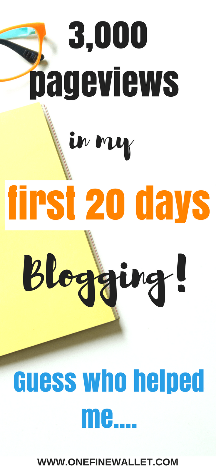 I reached almost 3,000 pageviews on my new blog in the first 20 days! I couldnt wait till the end of the month to write how I did it! #blogging #howtostartablog #bloggingforbeginners