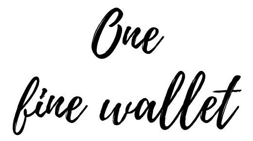 One Fine Wallet