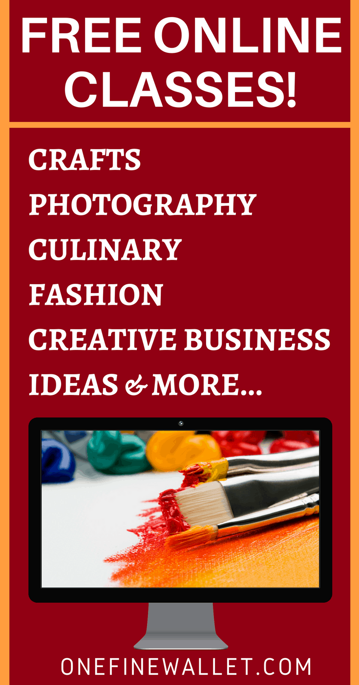 Over thousands of free online courses that will help polish your skills in crochet pattern, photography cooking and much more #freeonlinecourses #freeonlineclasses #workfromhome #crochetpatterns #photography