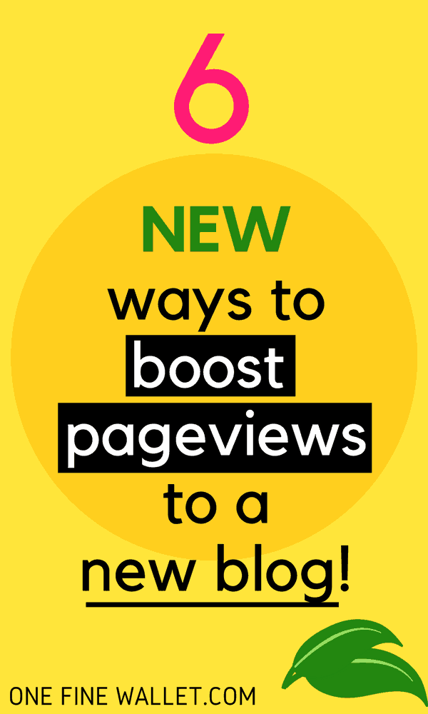 Your pageviews are increasing but not where you want it yet? Try these new ways to increase blog traffic #increaseblogtraffic #increasepageviews #traffictips