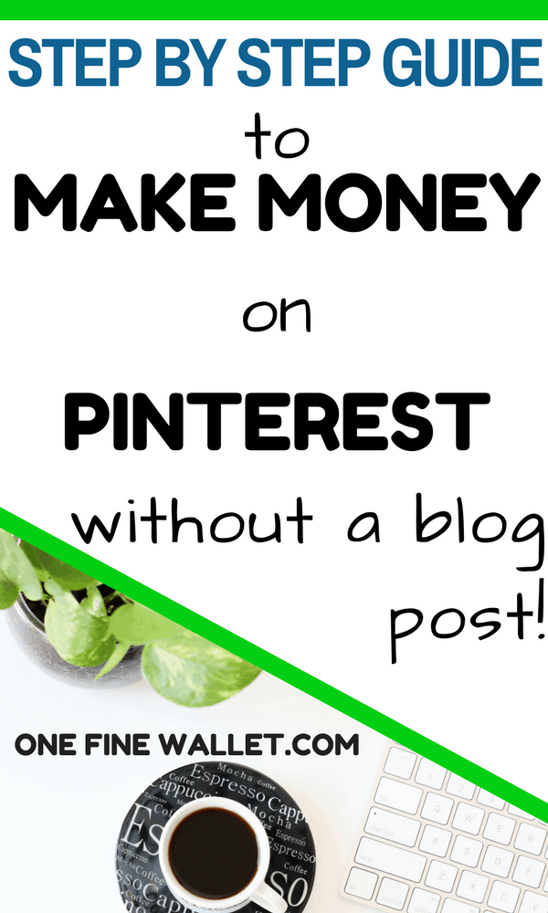 Here is my step by step guide that will show you how to make money on pinterest using affiliate marketing. Grow your income without having to create blog posts!