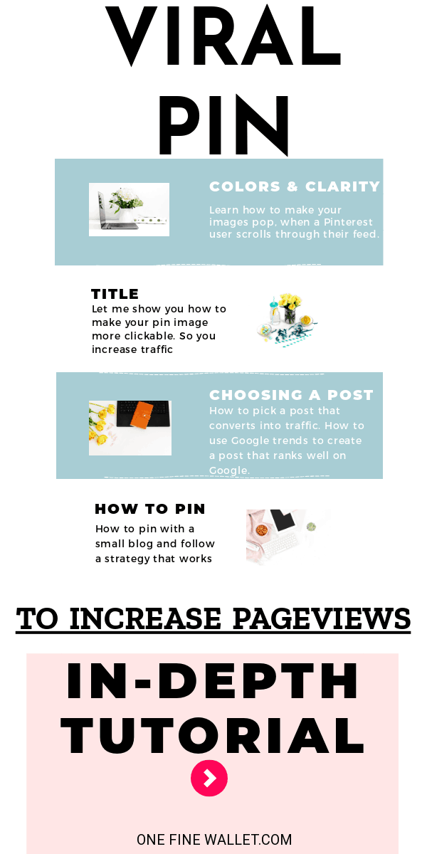 Learn how to use Pinterest to get traffic to your blog as a beginner. These are 4 simple tips for a new blogger to increase blog traffic. #blog #blogtips #pinterest #pinterestmarketing