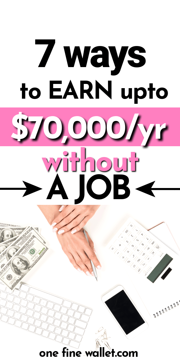 Read how you can earn extra money without investment. 7 online business ideas that are flexible work from home job ideas you can start today #MakeMoney #PersonalDevelopment #Lifehacks #Life #Money #workfromhome #workfromhomejobs #onlinejobs #sidehustles #makemoney