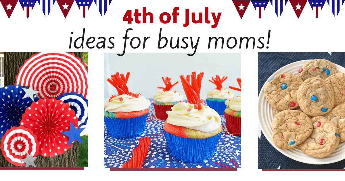 Quick and easy 4th of July party ideas and food treats
