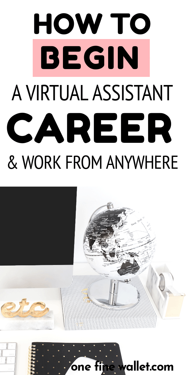 Want to know how to become a virtual assistant with no experience? You can work from anywhere as a virtual assistant and earn money $35-$50 an hour. Work from home jobs. Make Money Online