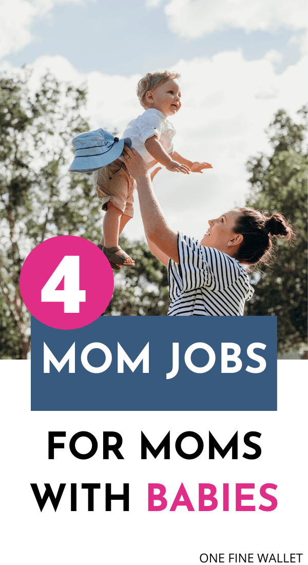 work from home jobs for moms with babies. Take advantage of these side hustle ideas