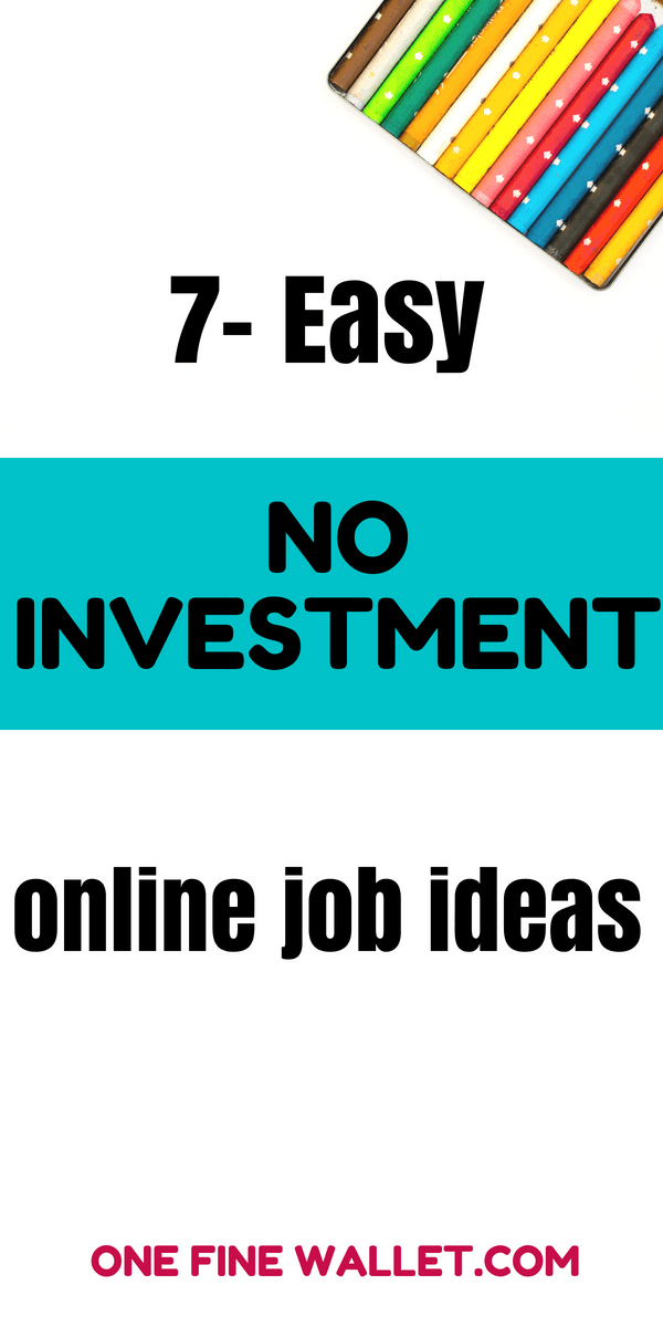 easy work from home jobs no fees genuine online jobs from home without investment work 7626