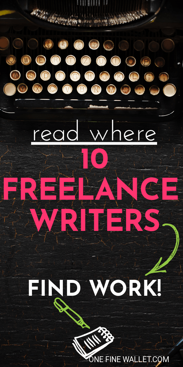 Where to find freelance writing jobs for beginners looking to make money from home. Read how you can find work as a beginner #freelance #writer #writing #writingtips #makemoneyonline #makemoneyfromhome #moneytips #sidehustle
