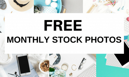 Feminine free styled stock photos for blogs – every month