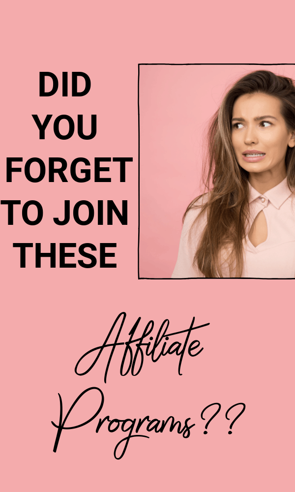 Make money with these 10 affiliate marketing programs every new blogger must join #affiliatemarketing