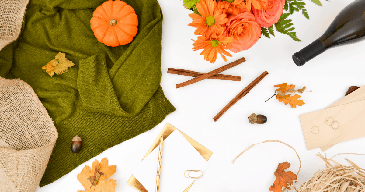 10 super easy DIY thanksgiving decorations on a budget