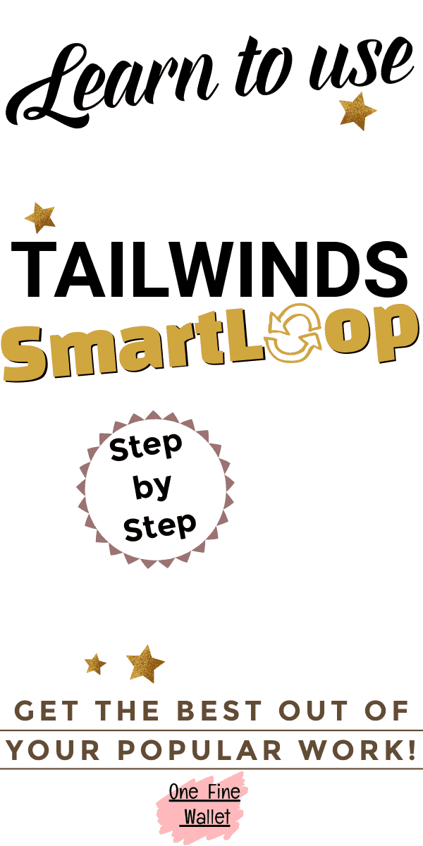 What is looping and how to use Tailwinds SmartLoop to automate your pinterest marketing so your popular pins keep bringing your blog traffic #pinterestmarketing #smartloop #tailwind
