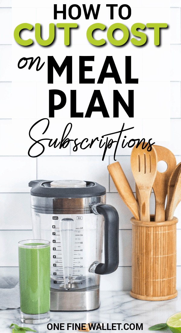Read how you can make the best out of meal plan subscription boxes. How to find deals to save money on grocery shopping. #savingmoney #savemoney #moneytips #budget
