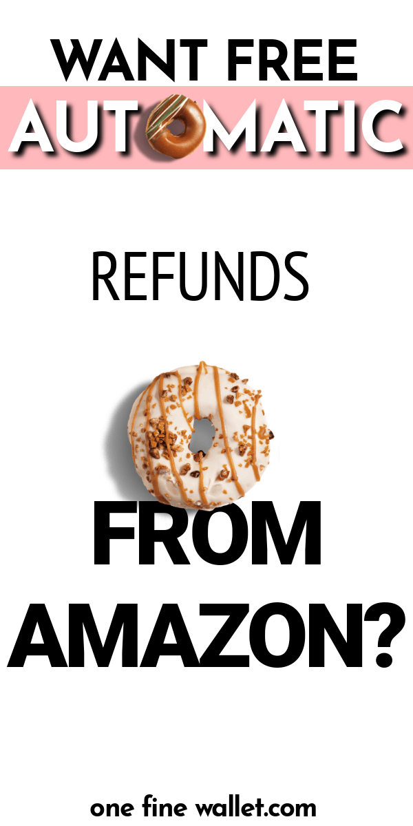 This App will give you automatic refunds for all your online shoppping including amazon. Earn money back into your account when there is a price drop - With refunds from Amazon, Walmart and more #makemoney #money #personalfinance #financialfreedom #savemoney #savingmoney #save