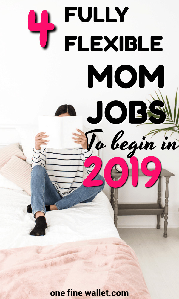 If you are a new mom looking for work with your newborn or babies, here are 4 fully flexible side hustles you can start in 2019. These online jobs are great for stay at home moms.