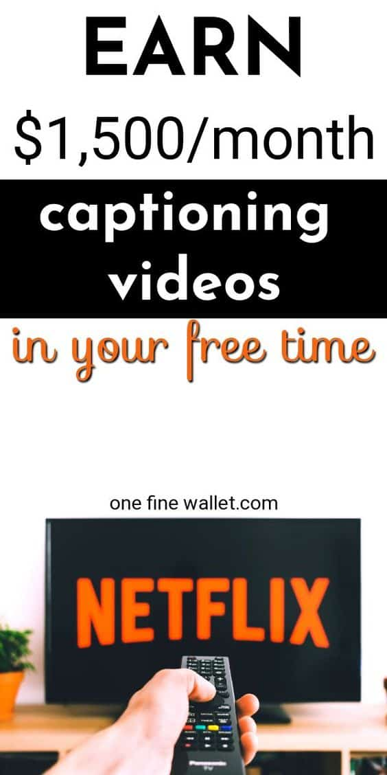Get paid to caption videos at home and make money. Find captioning jobs at REV now! #captioningjobs #makemoneyonline #workfromhome #makemoney #howtomakemoney