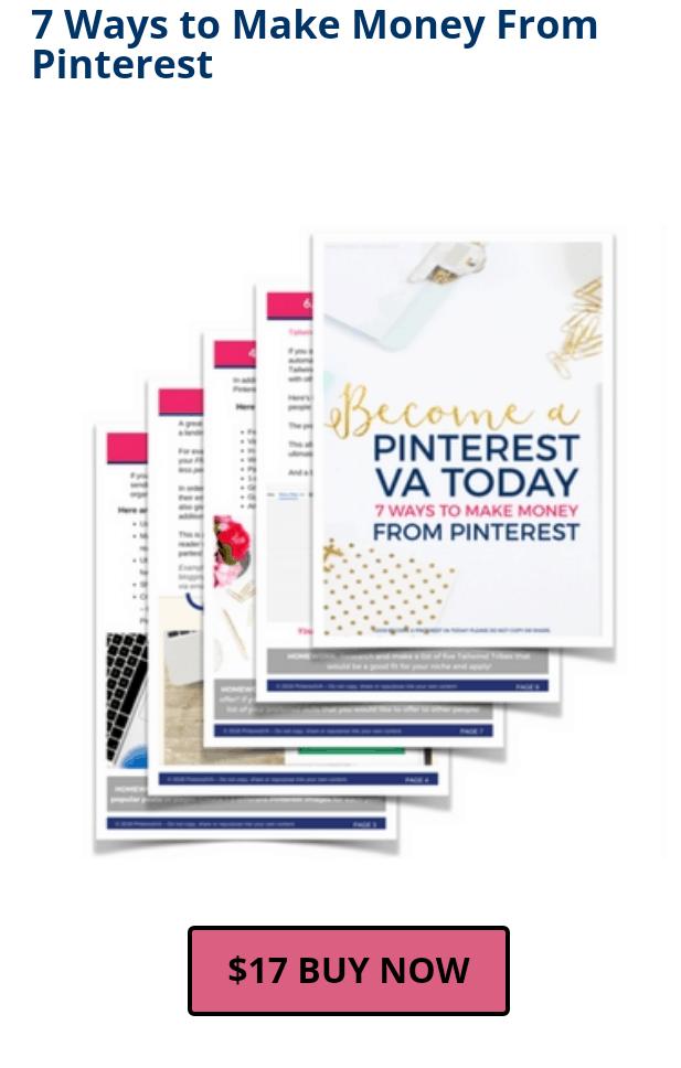 make money from pinterest