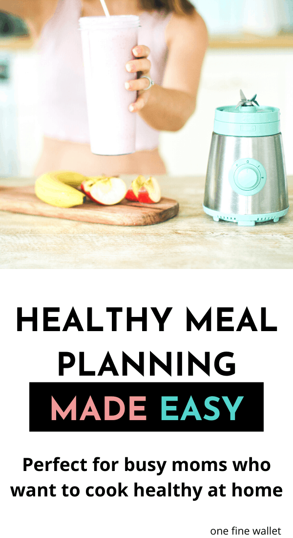 Meal prep for the week with this healthy meal planning idea. This is clean eating for families and busy moms, that include freezer and slow cooker recipes