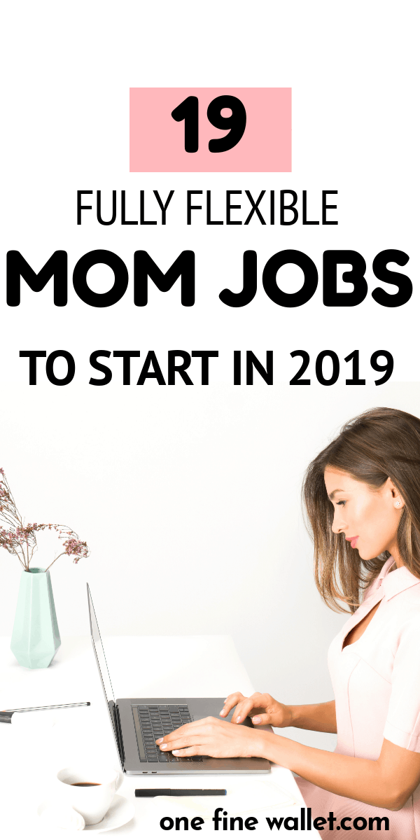 Best stay at home jobs for moms in 2019. A list of legitimate online jobs for moms looking to make money from home.