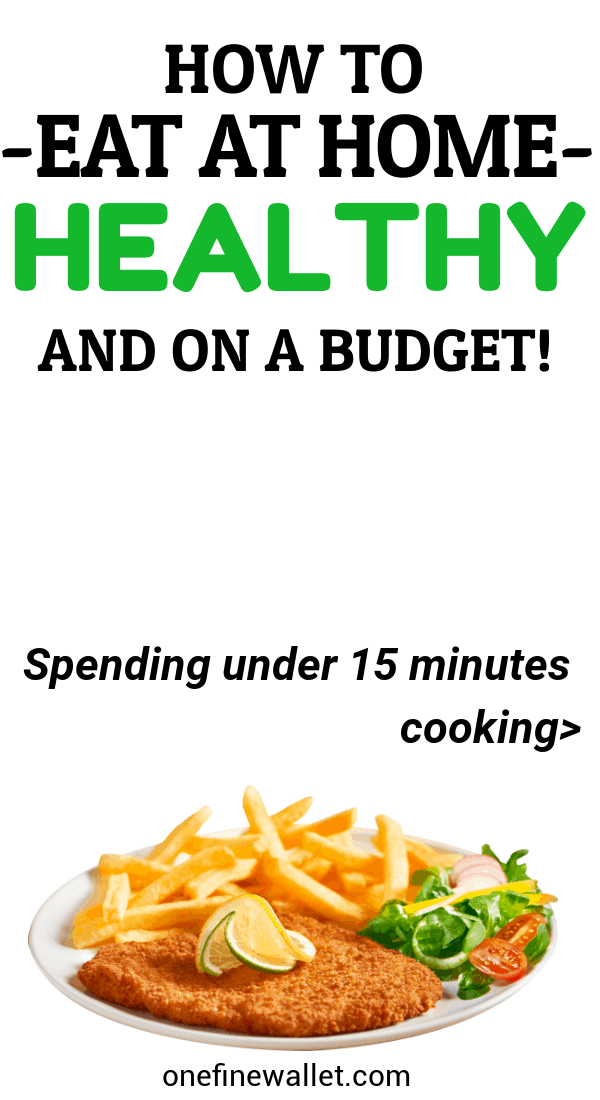 If you are looking to meal plan on a budget the frugal and healthy way -you will love this! Whether its for 4 or for 5 you can eat healthy at home, with this weekly meal planner.