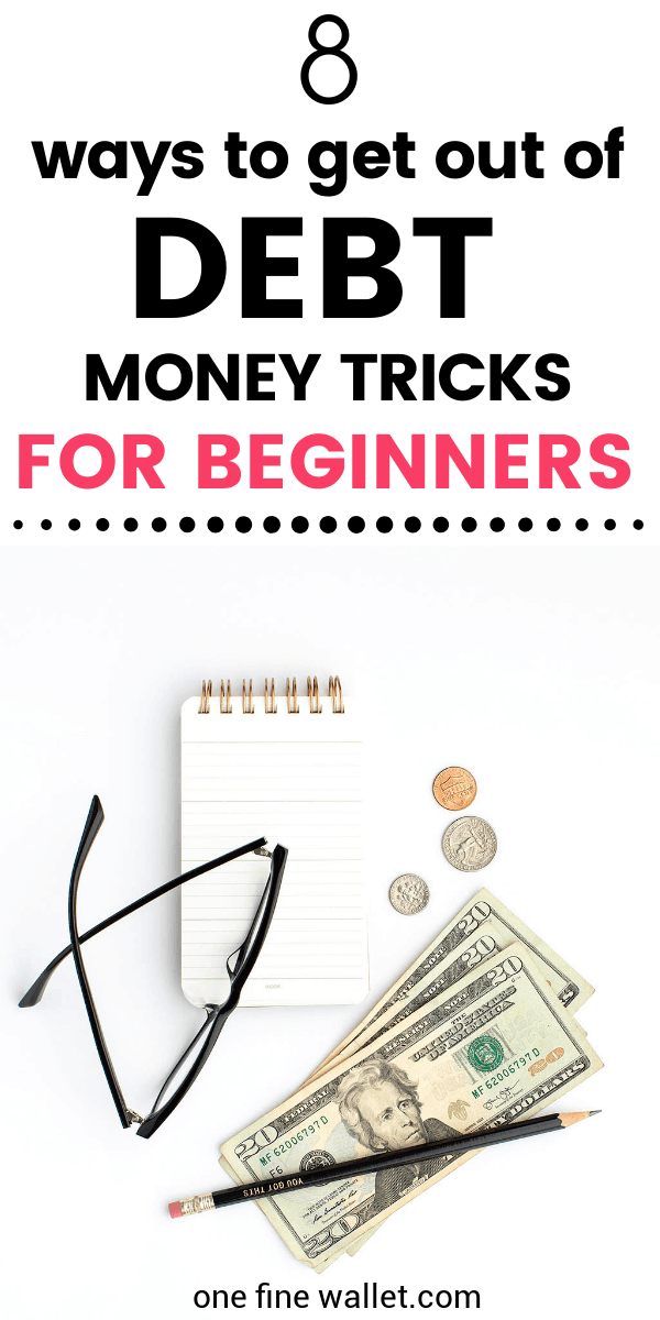 Debt free living - Ideas for beginners looking to get rid of debt and make some extra money through quick side hustles.