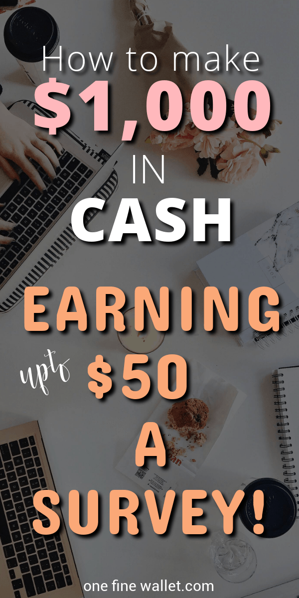 Here are 5 of the highest paying online surveys that pay cash only. One of the best side hustles at home to make extra money.