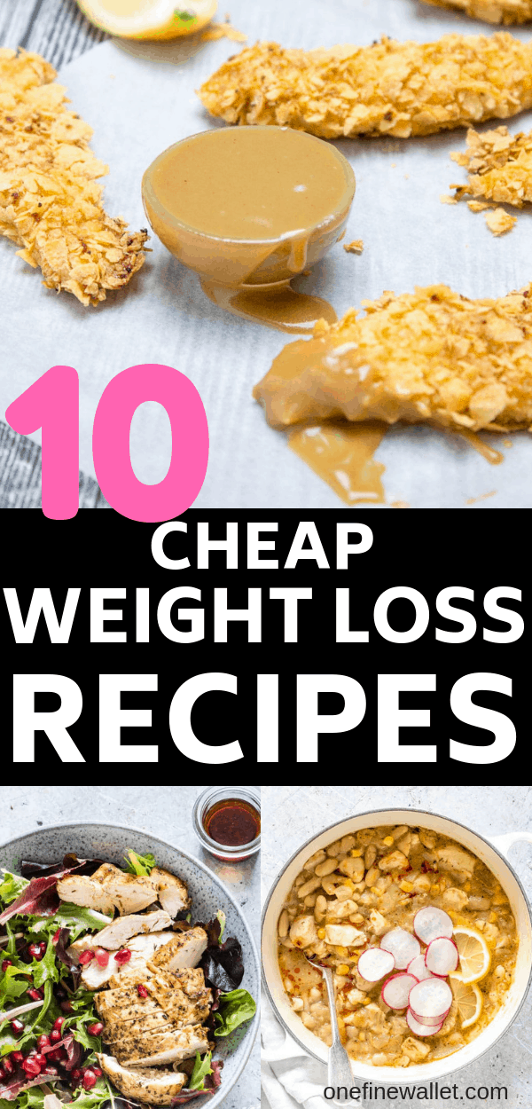 Here are 10 healthy recipes for weight loss on a budget. These are cheap dinner recipes that are perfect to lose weight.