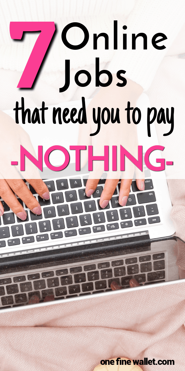Wondering how to make money online without paying anything? I hear you - I have listed 7 easy ideas that do not need any start up fees to work from home.