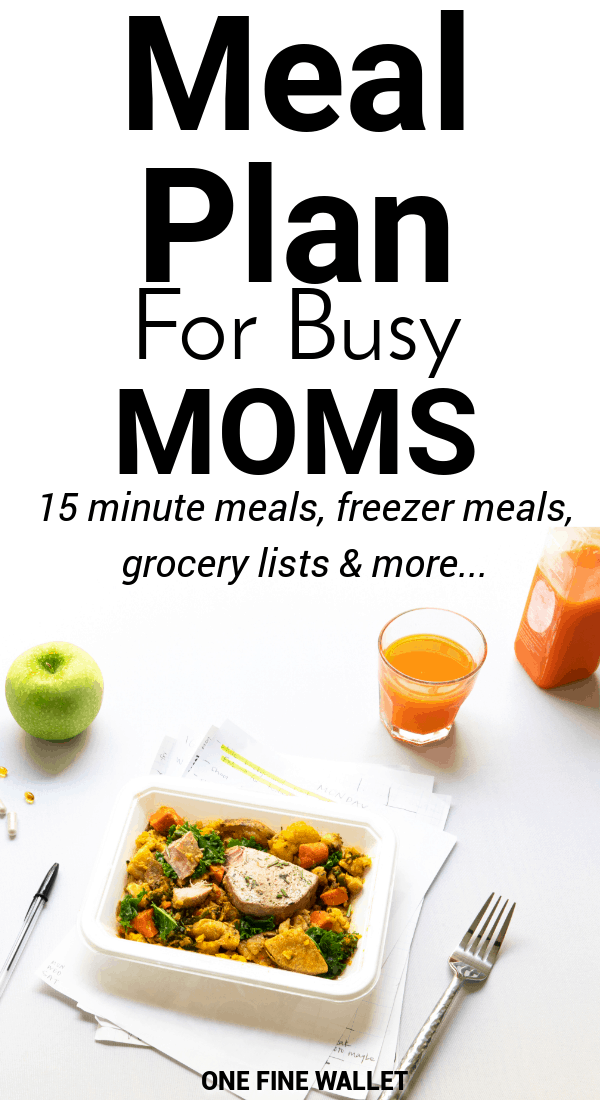 Are you looking for a healthy meal prep idea? This eat at home meal plan on a budget is perfect for those looking to meal prep for the week.