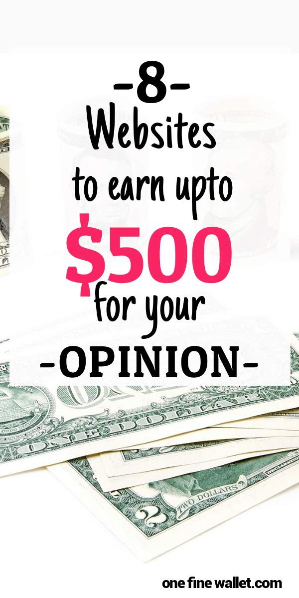 Ready to make money for your opinion. Here is how you can make money from home in the UK and the US. These well paying survey sites are the perfect side hustle from home!