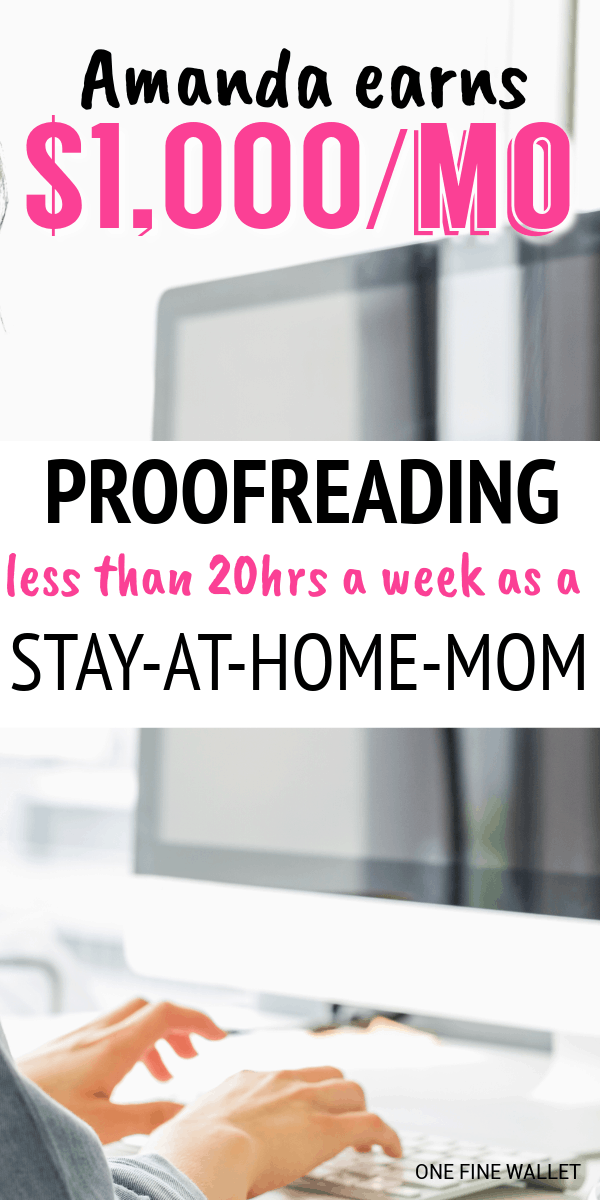 Want to know how to become a proofreader? This online side hustle is perfect for those who are looking to make money online. One of my favourite stay at home mom jobs