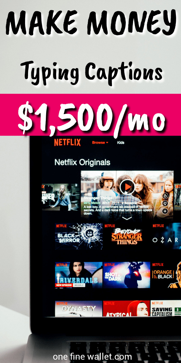 Want to caption videos for money? You can now caption your favourite TV shows at home and make money online. Earn extra cash upto $1,500 a month