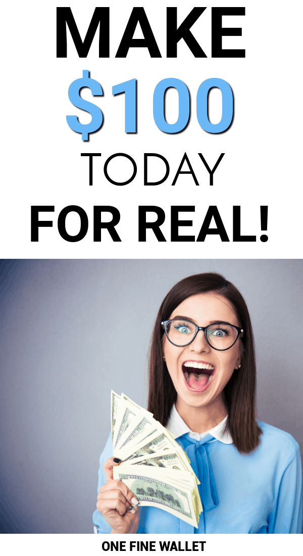 Are you wondering how to make 100 dollars a day? Here are over 16 creative ideas to make money fast.