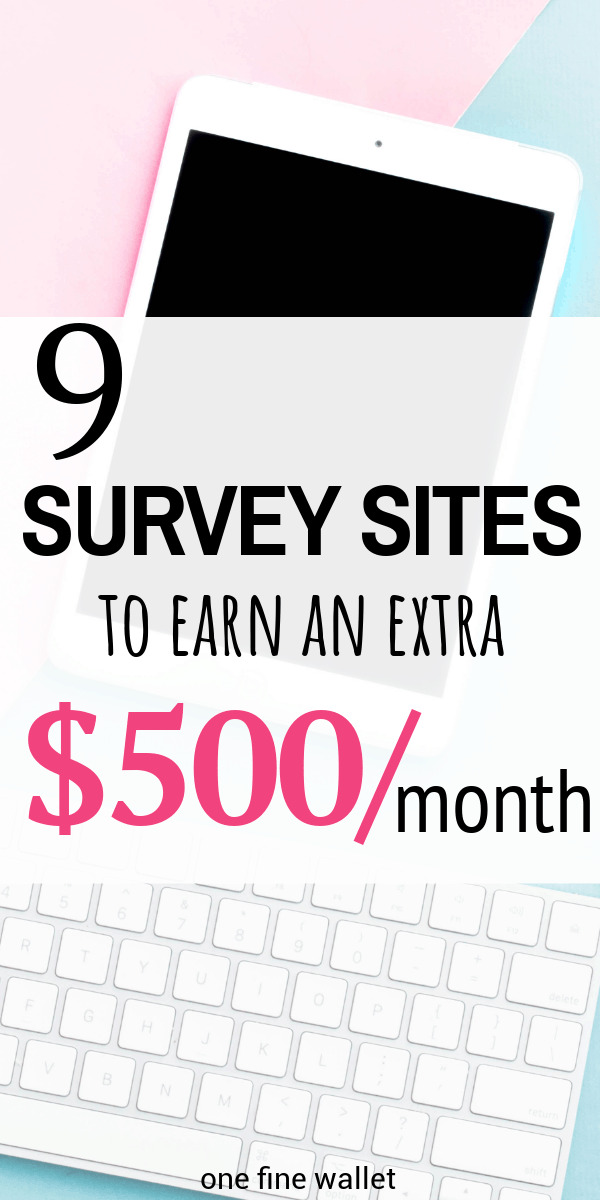 Here are 9 online paid survey sites that you help you make extra money in your spare time from home.