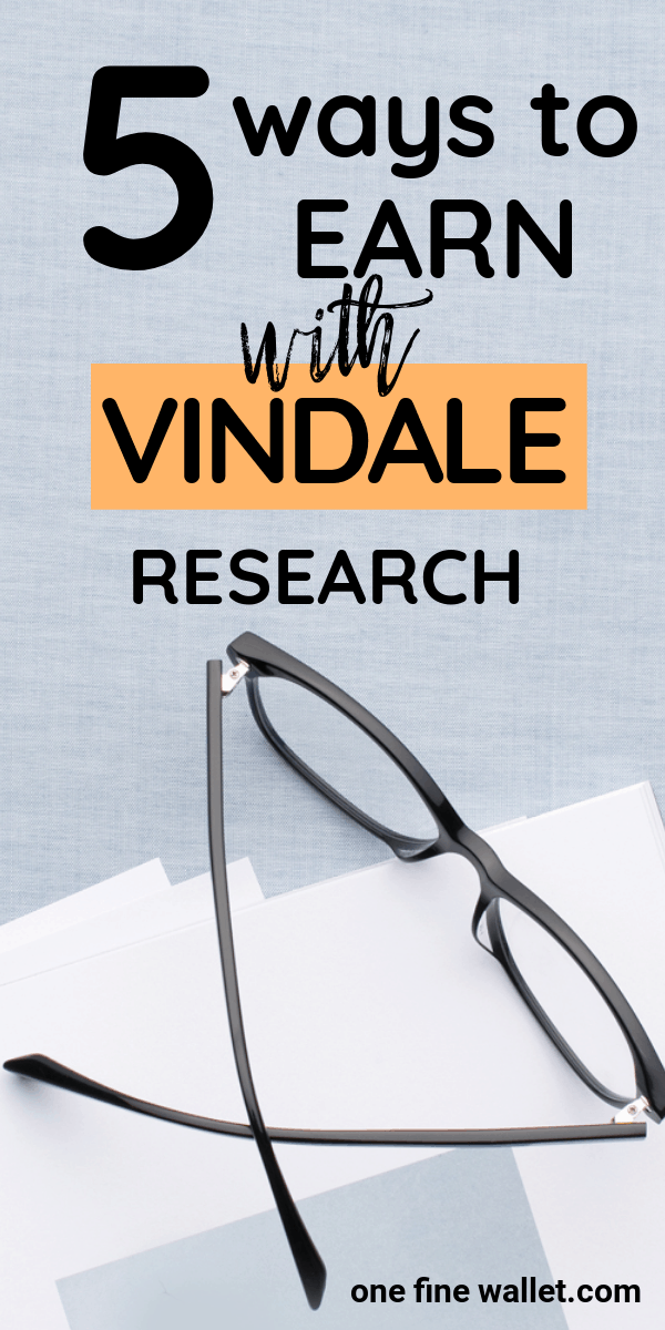Make money online with Vindale Research