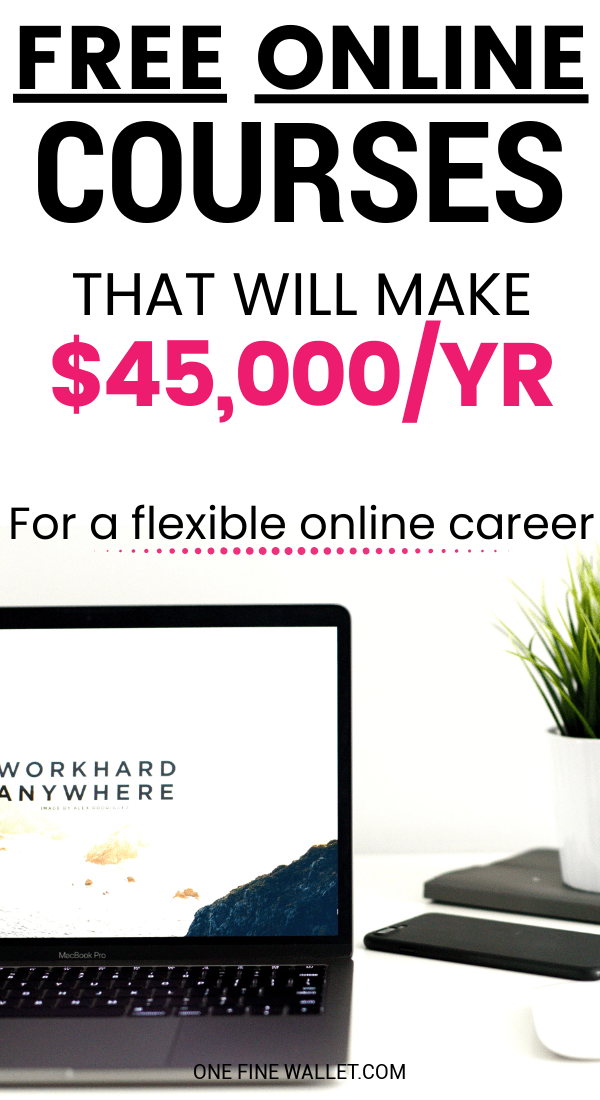 Not sure what are the best work from home jobs to suit you? Here are 5 free online courses that you can try out for free!