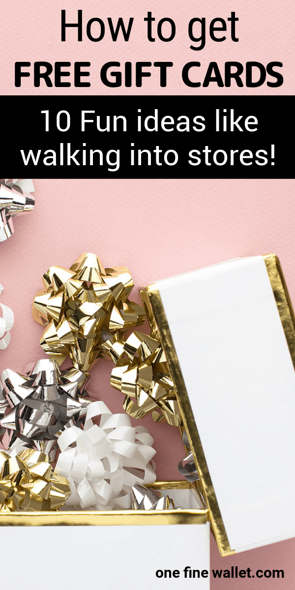 10 Smart and creative ideas to save money on birthday presents and holiday shopping. Here is how you can get free gift cards
