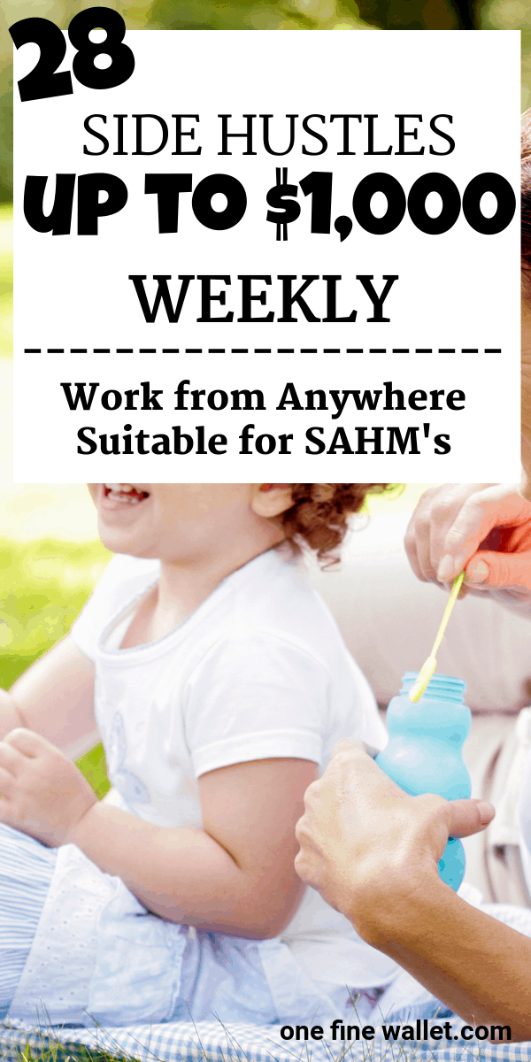 28 Online Jobs that pay weekly. Make money from home with these high paying side hustles.