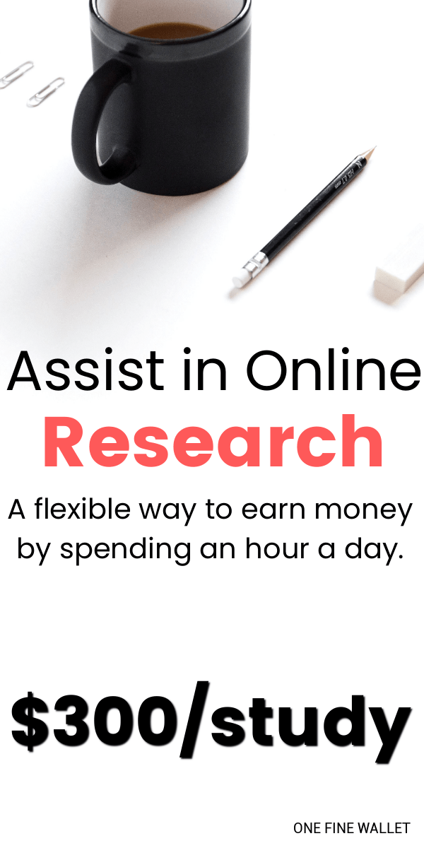 Earn money with Respondent, by helping researchers with their study. Its a flexible online that make make up to $140 an hour.