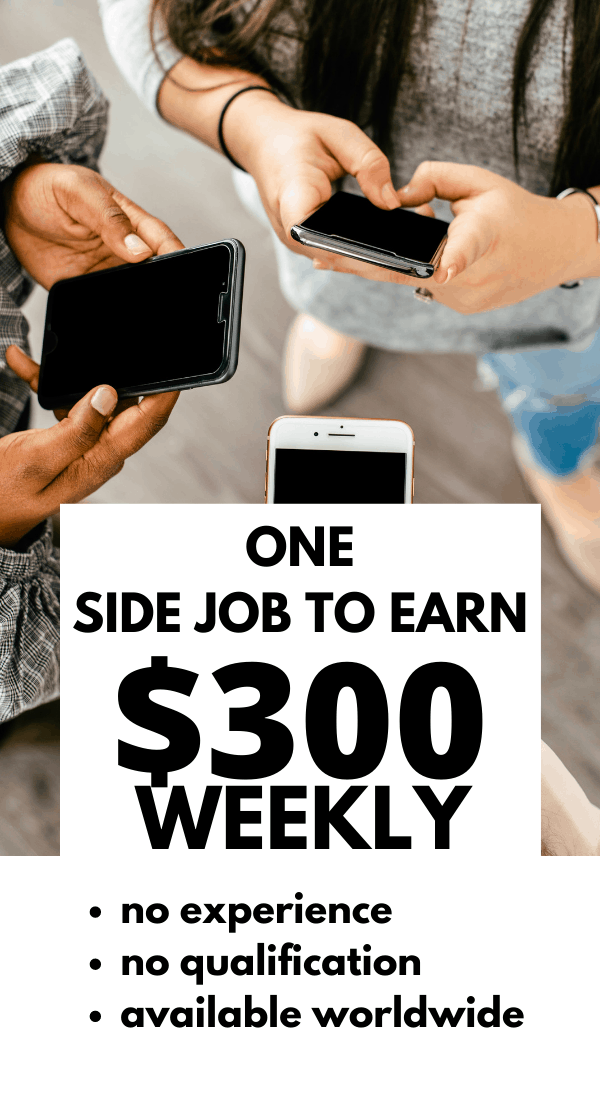 Make money with Respondent earn up to $300 for paid online research. A side hustle thats worth trying. #makemoney #money #makemoneyfromhome #sidehuslte #sidejob #workathome #workfromhomejobs #jobs