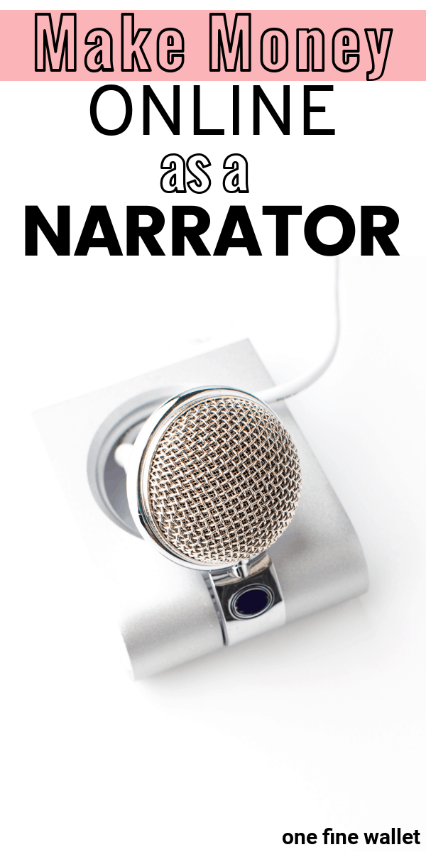How to become a voice actor, and make money from home as an audiobook narrator.