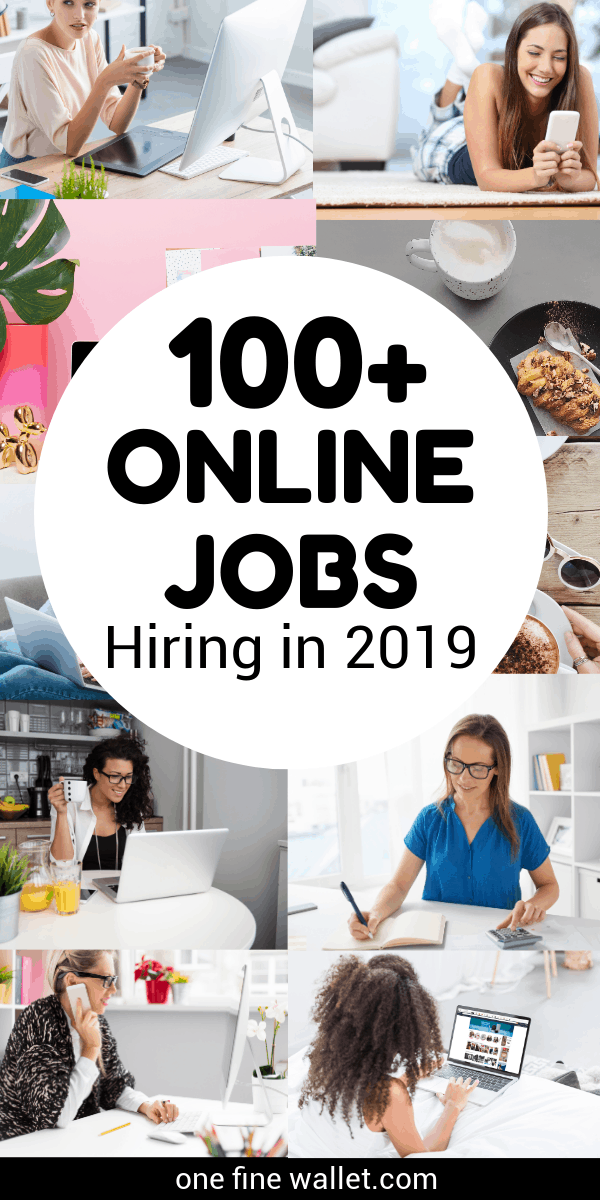 Legitimate work from home jobs that are worth your time - over 100 genuine work at home jobs to choose from
