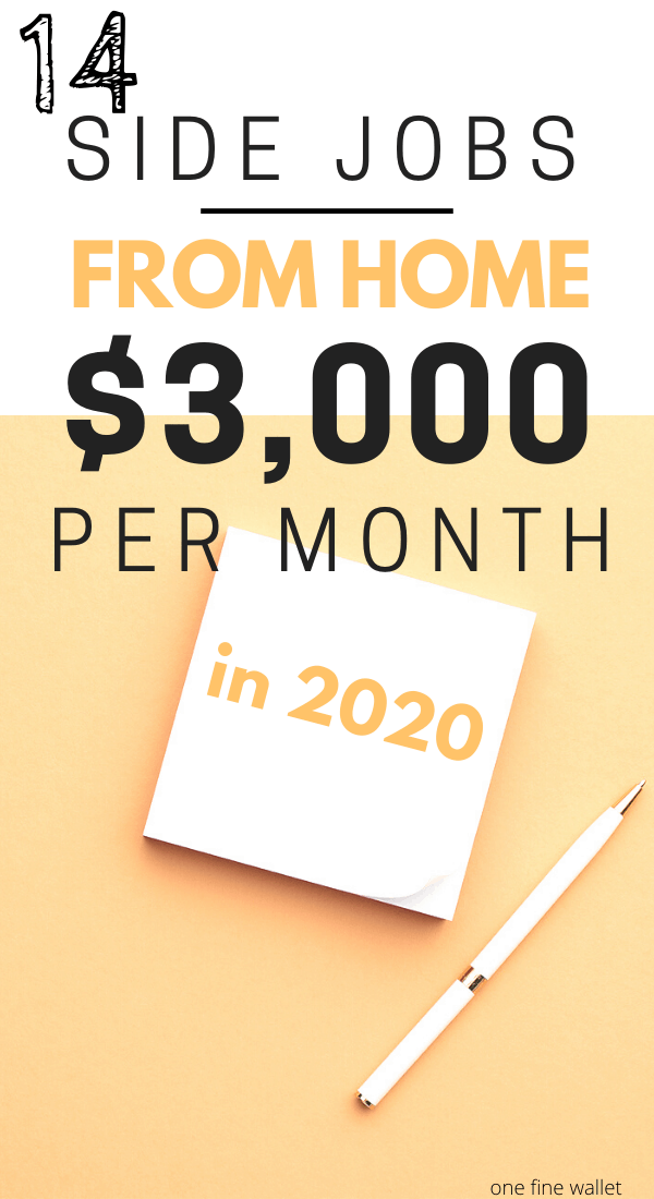 Make money online with these side jobs that pay well in 2020