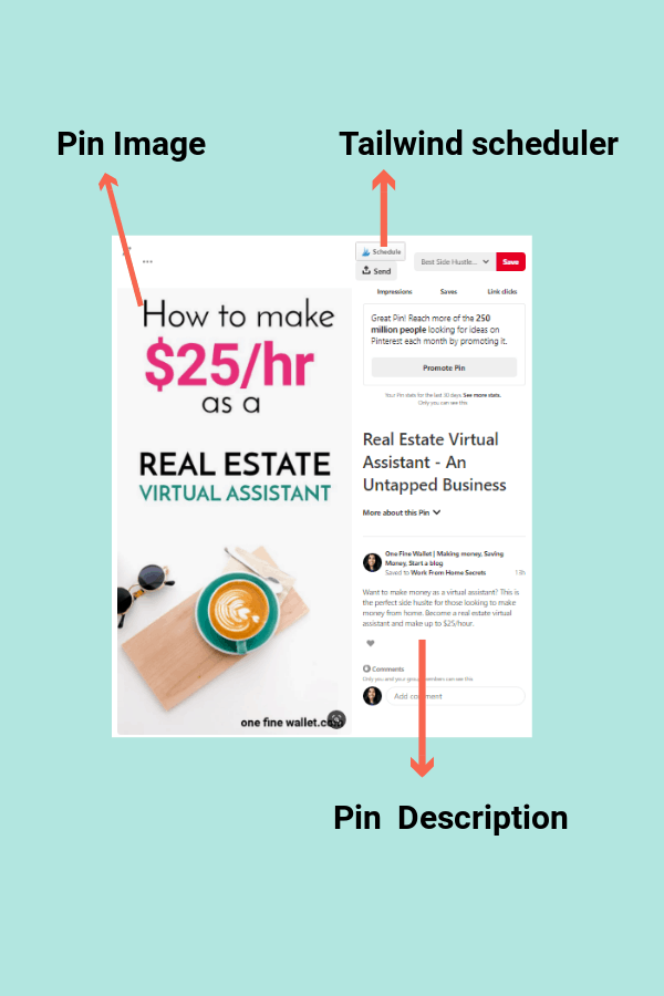 Become a Pinterest Virtual assistant and make money from home