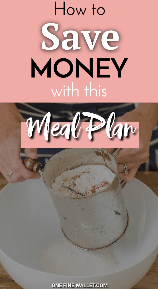 A budget friendly meal plan for those looking to eat healthy for cheap. Save money with the eat at home cook meal plan.