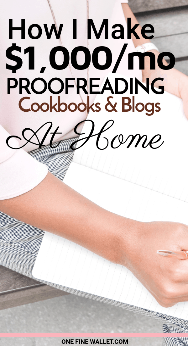 Read how to become a proofreader at home and earn for editing cookbooks, blogs and ebooks. Here is a stay-at-home mom job that pays well