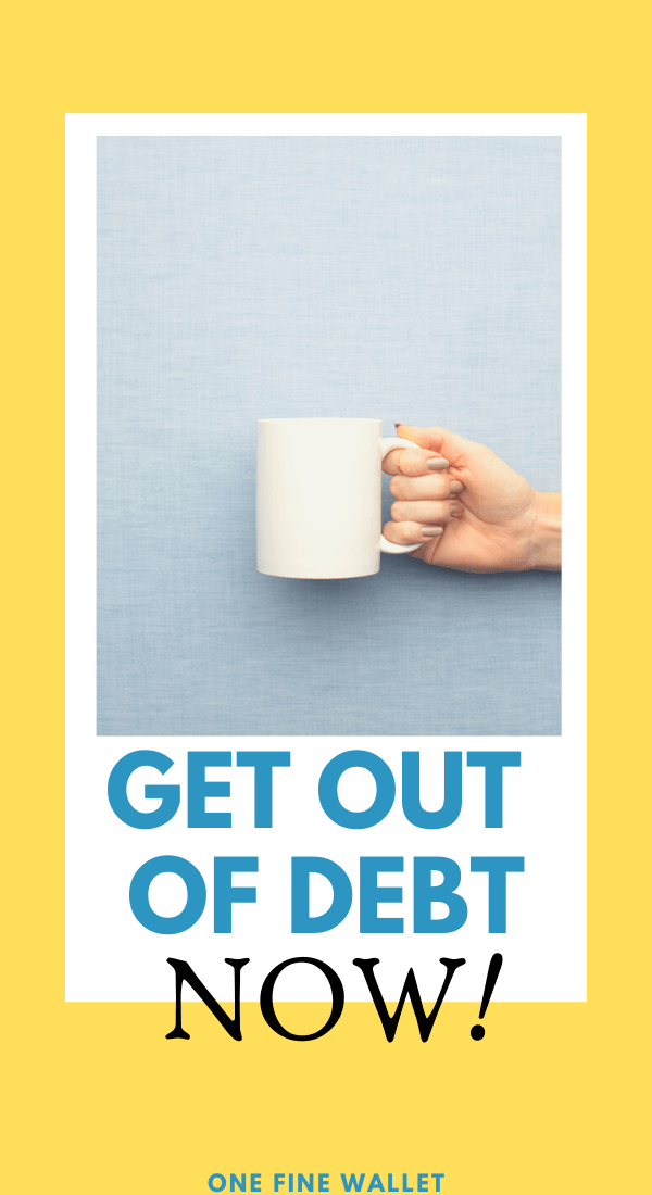 Get out of debt. Best ways to save money and remain debt free