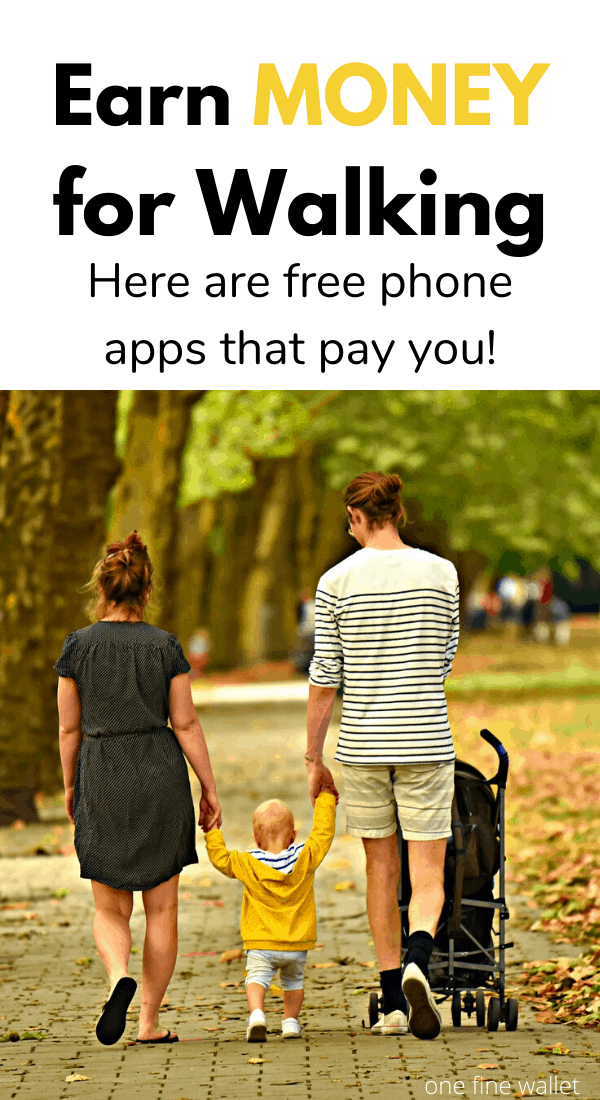 Did you know you could get paid to walk? Here are over 20 free phone apps that pay you to walk?