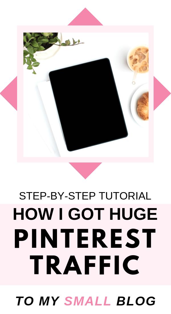 Make money blogging by increasing your blog traffic using Pinterest. Pinterest marketing strategies using the Tailwind app. #Tailwind #pinterestmarketing #blogging #blogtips #makemoneyblogging